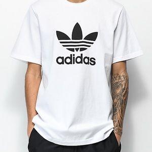 ADIDAS EUC Brand White Tee Shirt